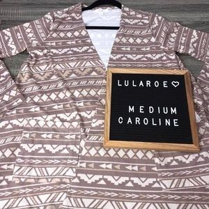 Lularoe medium Caroline cardigan